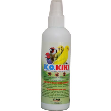 Kiki k.o. insecticida- antiparacito pajaros 200ml