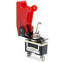 Kill-Switch, Knock-Out Red 20A 12V - Toggle Switch