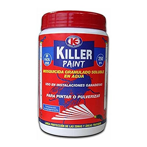 Killer Paint Mosquicida Granulado (Soluble) - Bote 250 g