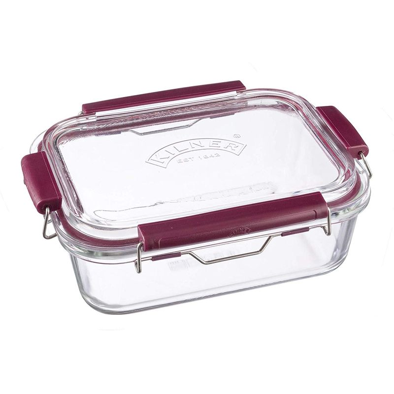 Image of Fresh Storage - Stackable Airtight Glass Food Container - 1.4 Litre - Kilner