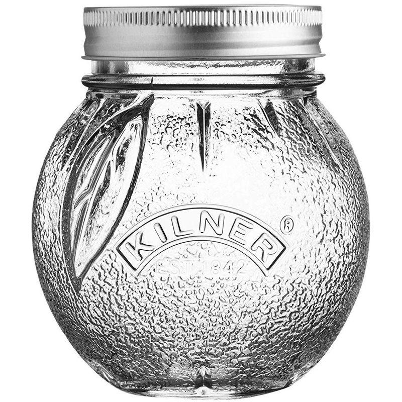 Image of Fruit Shape Preserve Jar - Orange - 0.4 Litre - Kilner