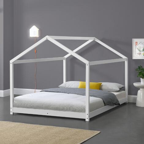 Kinderbett Cerro 120x200 cm Weiß