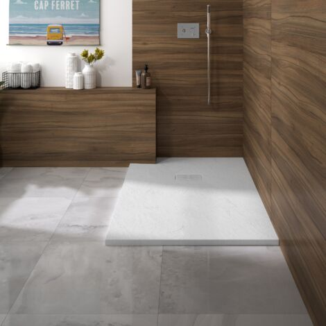 Kinedo - Receveur douche rectangle Kinerock Evo, 140 x 90, blanc