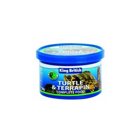 """main image of """"King British Turtle & Terrapin Complete Food - 20g - 284929"""""""
