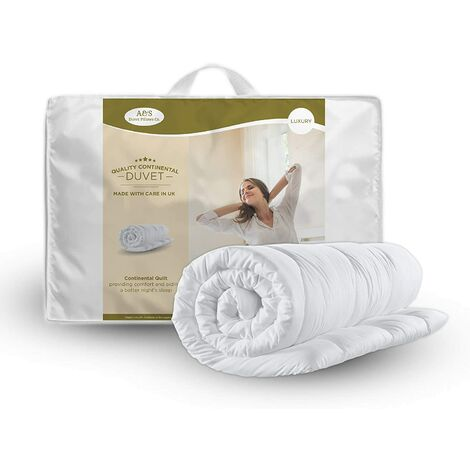 """main image of """"KING SIZE DUVET & 2 DELUXE PILLOWS-KING 13.5 TOG QUILT & 2 SUPERFIRM PILLOWS"""""""