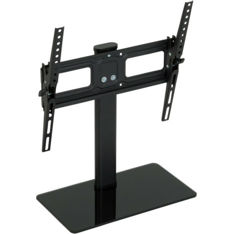 """King Table Top Base Replacement Pedestal Stand With Tilting Bracket For 32"""" - 50"""" by TV Furniture Direct"""