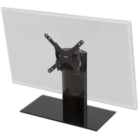 """King Tilt & Swivel Table Top Replacement Pedestal TV Base Stand for up to 32"""" inch"""