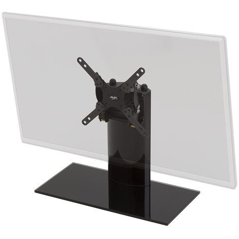 """King Tilting Table Top Replacement Pedestal TV Base Stand for up to 32"""" inch"""
