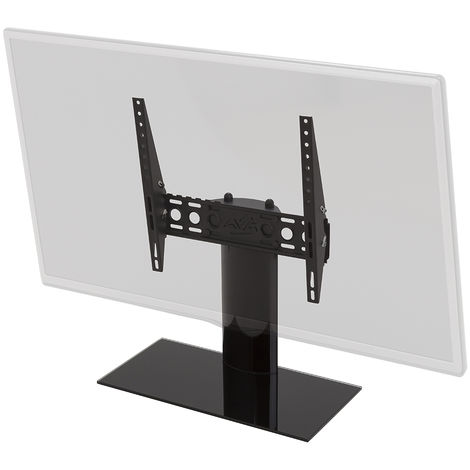 """King Tilting Table Top Replacement Pedestal TV Base Stand for up to 55"""" inch"""