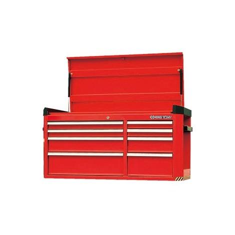 King Tony - Cofre metálico - 8 cajones con compartimento superior - 87B5108B