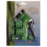 Kingfisher 645SNCP Spray Gun Set Including Adapters