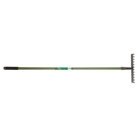 Kingfisher CS540 Garden Rake 12 Tooth Carbon Steel