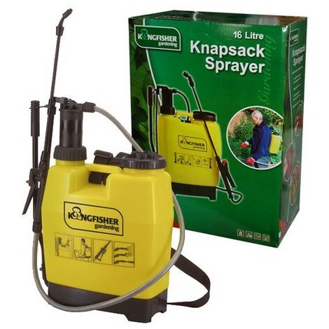 Kingfisher PS4016 Pump Action Knapsack Backpack Pressure Sprayer 16 Litre