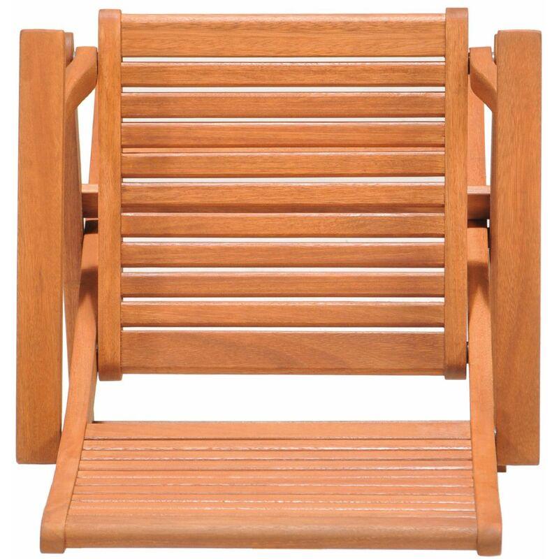 Chaise 54 Bras D'eucalyptus 70 00 65 De Avec Jardin Pliante Bois X Kingsbury Cm 93 En Fsc 57 NPnX0k8wO