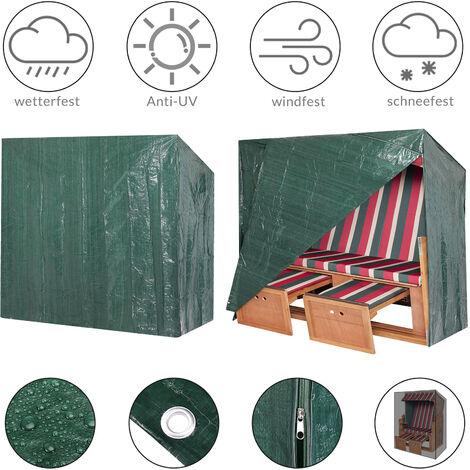 Kingsleeve PE Cover for Beach Chair 125x90x165/ 135cm