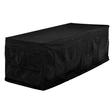 Kingsleeve - Weather and Tear-resistant Protective Cover 420D Oxford Beer Bench