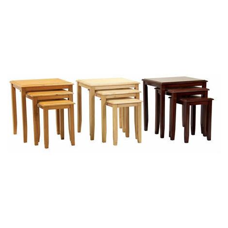 Kingston Nest Of Tables - Maple