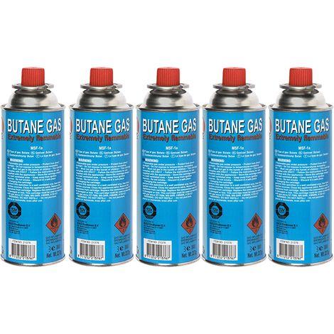 Kinzo Vorteilspack 5x Gasflaschen für Kinzo Unkrautbrenner