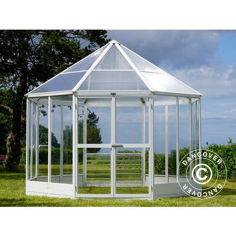 Kiosque De Jardin En Polycarbonate Octogonal 8 88m 2 98x2 98x2