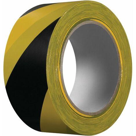 Kip Warnband Extra 339 PVC schwarz/gelb L.33m B.50mm Rl.KIP