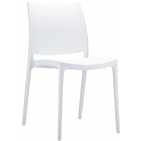 Kirk Stackable Side Chair - Commercial Quality Fully Assembled