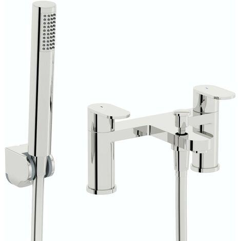 Kirke Curve WRAS bath shower mixer tap
