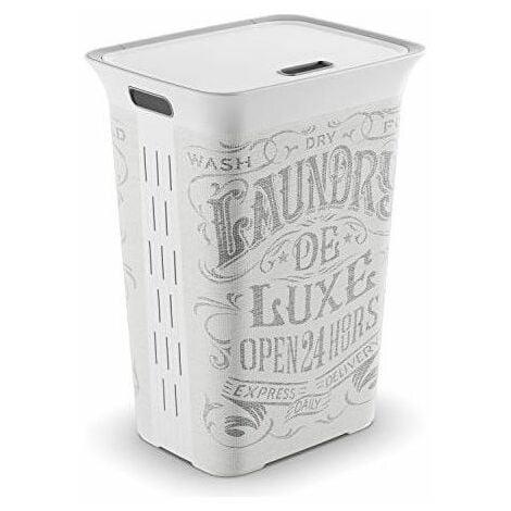 "main image of ""Kis Portabiancheria Decorato Laundry Bag da 60 Lt"""
