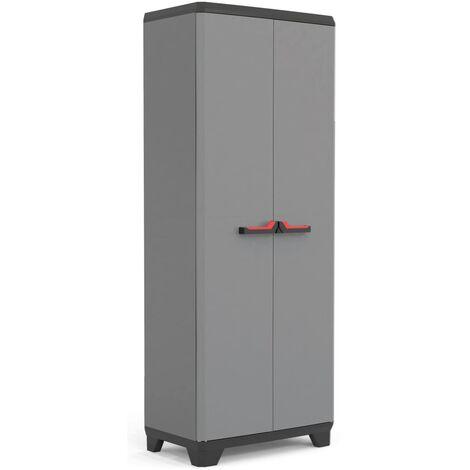 Kis Stilo Low Garden Storage Cabinet cm L68 x D39 x H90cm