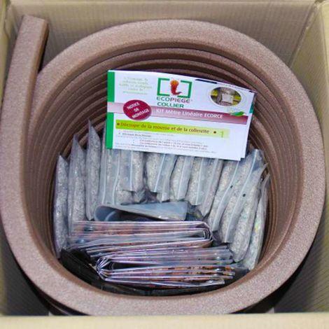 Kit 10 pièges arboricoles chenilles processionnaires. Écopiège® Ecorc