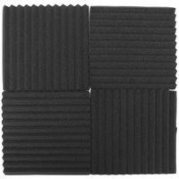 Kit 12 paneles FABUCA absorción acústica en poliuretano expandido 300x300x250