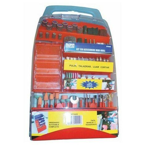 Kit 150 accesorios minidrill | Pack de accesorios para Mini Taladro profesional