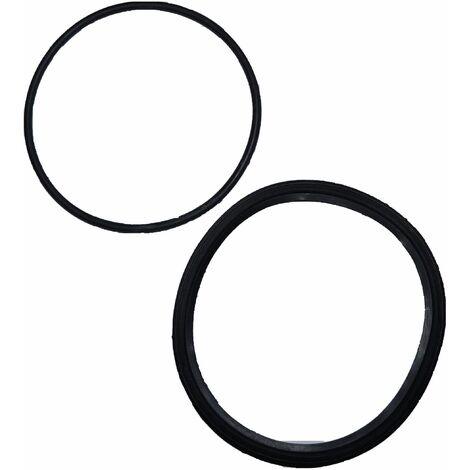 Kit 2 joints pour pompes EDG 100517/100518 (carre/torique)