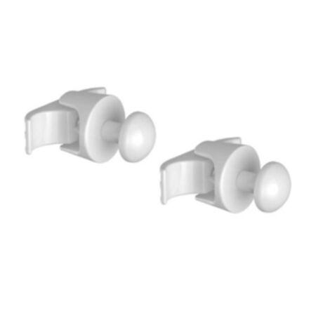 Kit 2 pateres pour seche-serviettes tubes Aquance