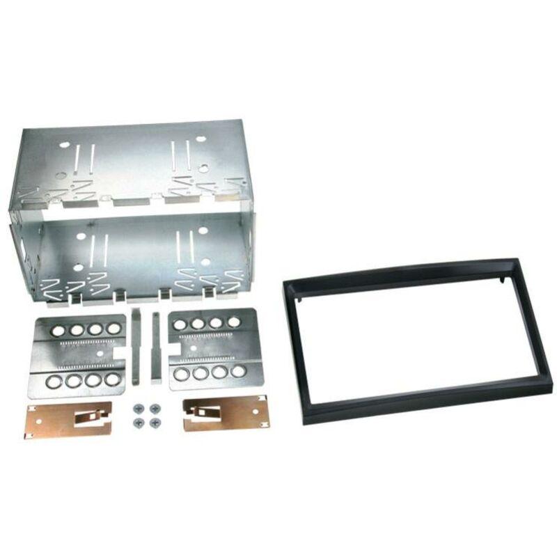 Kit 2Din Citroen ap02 compatible avec Fiat Scudo ap07 Peugeot ap01 Toyota 13-16 - Noir Brillant