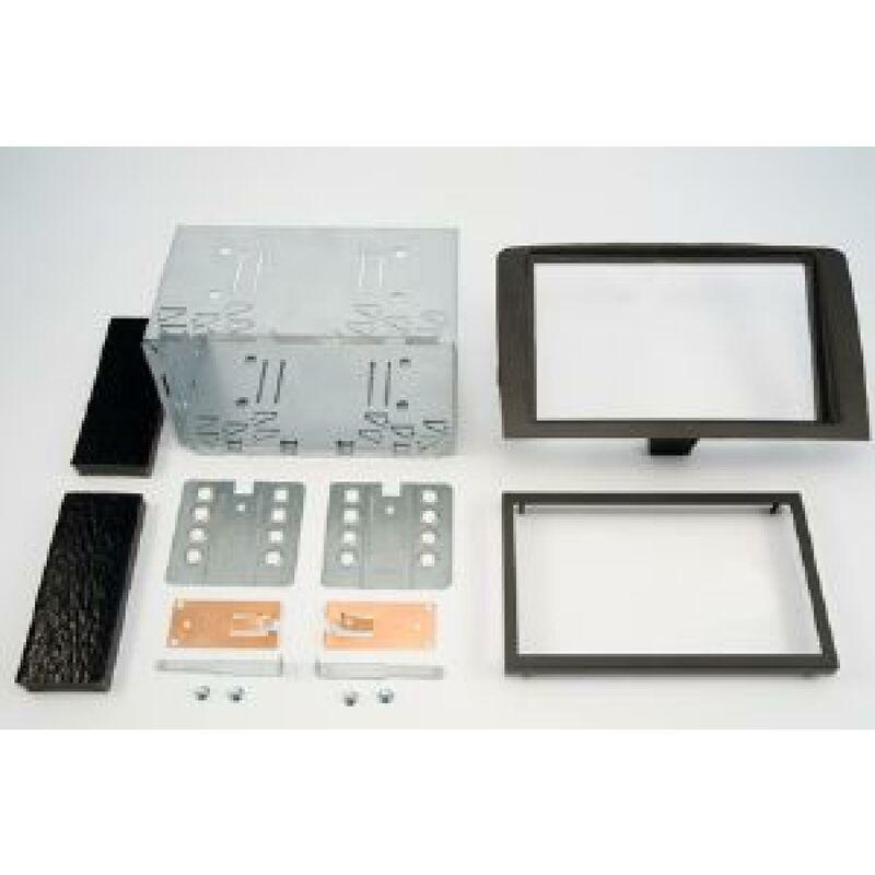 Kit 2DIN compatible avec Lancia Musa 05-09 - noir