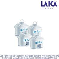 Kit 3+1 filtros laica biflux f4m2b28t150