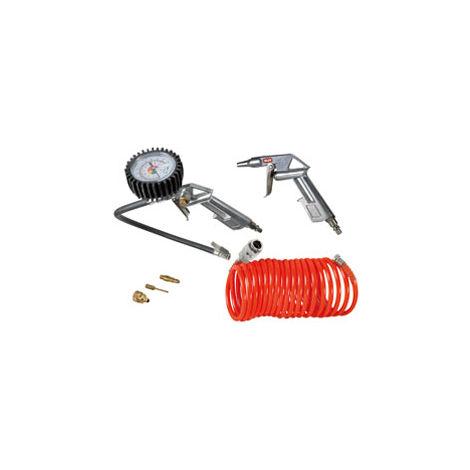 Kit 3 + 3 Valex outils pneumatiques pour compresseur d'air