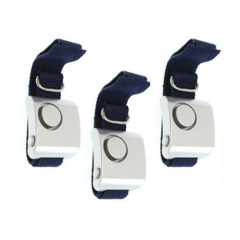 Kit 3 alarmes personnelles de défense 130 dB pour footing