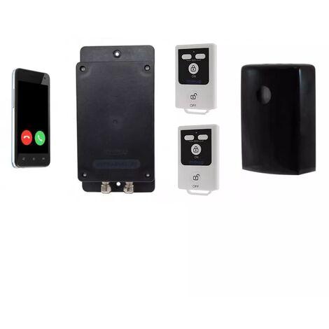 Kit 3 extérieur 100% sans-fil autonome renforcé détection mouvement + sirène + alerte GSM 3G Appel/SMS (gamme BT)