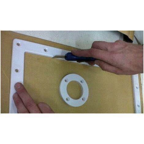Kit 4 plaques de joints autocollants pour piscine