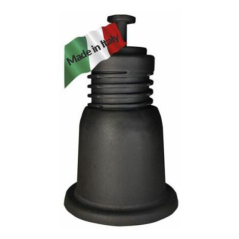 KIT 4 SUPPORT CLIMATISEUR 100 noir AJUSTABLE antivibratoir