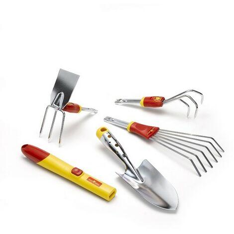 Kit 5 outils de jardin Wolf BT51