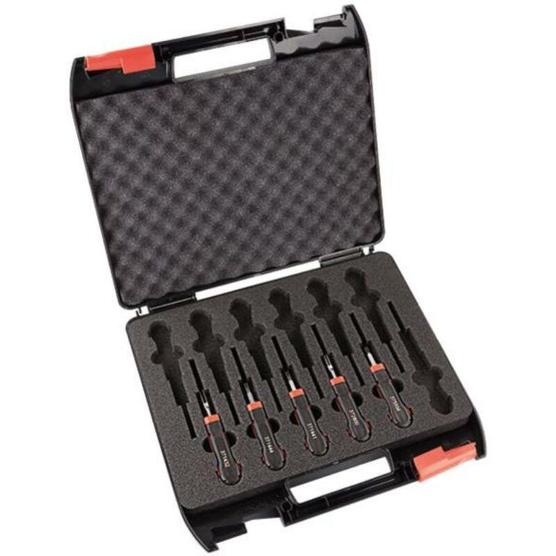Kit 5 outils extraction avec boite de transport