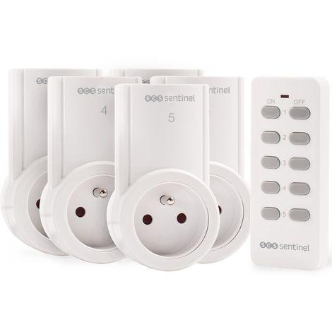 Kit 5 prises télécommandées, ControlPower 2 300 W, ControlPower 2300 W
