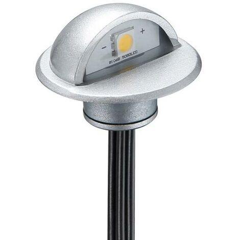 Kit 6 focos LED empotrables balizas para escalera 0,4W 12V-DC IP67