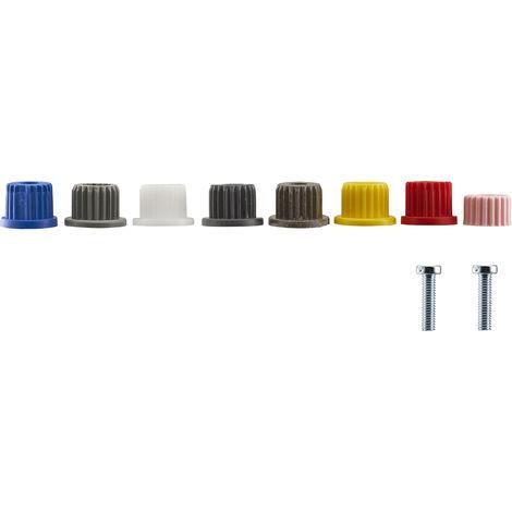 kit 8 insertos de montura grifo + 2 tornillos