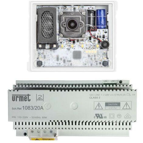 Kit à Base de Système Audio/Vidéo Urmet système Alpha 2 Voice 1783/724