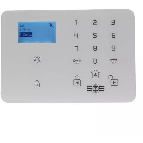 Kit à composer KP-9 2G+3G centrale d'alarme GSM sans-fil (gamme KP)