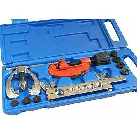 Kit abocardador y cortador para tubos de cobre, freno, a/a,
