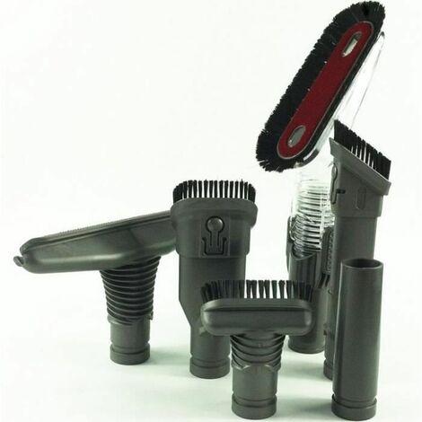 kit Accessoire pack de 5 brosses compatibles Dyson DC49 DC59 DC62 v6 DC52 DC54 DC26 DC37